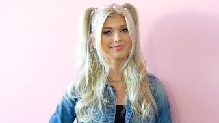 Loren Gray Opens Up About Her FIRST KISS Playing Hollywire Polaroid!! | Hollywire Video