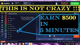 The best trading strategy - Earn $500 in 5 minutes - By using an Awesome Oscillator