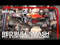 Red Bull Smash Pit Stop World Record | 2019 Brazilian Grand Prix