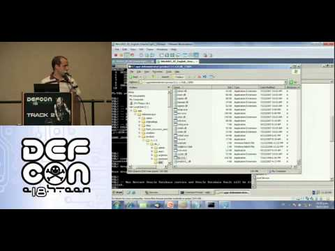 Defcon 18 - Hacking and protecting Oracle database Vault Esteban Martinez Fayo