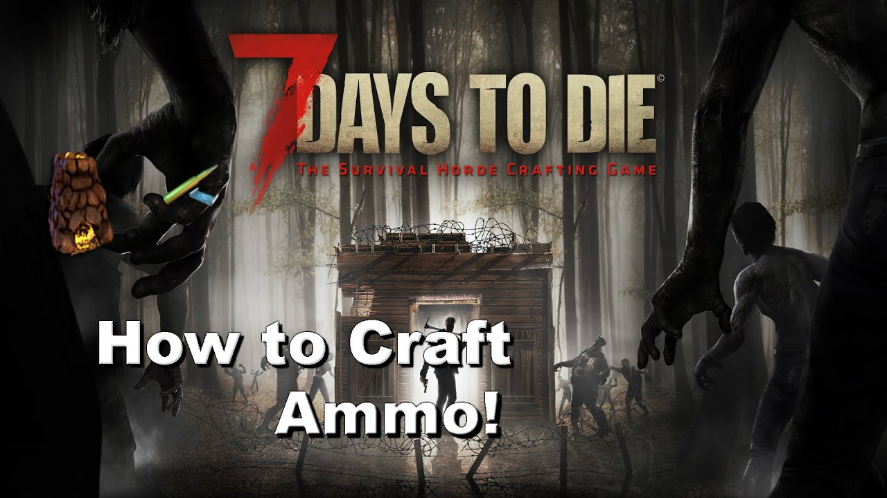 7 days to die how to make guns xbox one