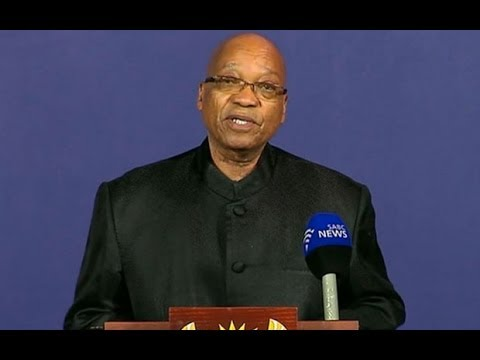 Jacob Zuma Breaks News Of Nelson Mandela's Death - Announcement In Full