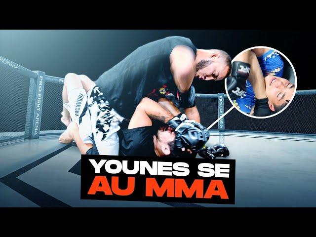 ENTRANEMENT INTENSE EN MMA DE YOUNES ET ZACK