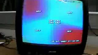 Магнит у экрана телевизора