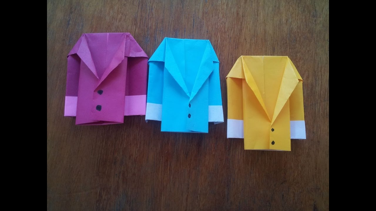 Origami Jacket Paper Making