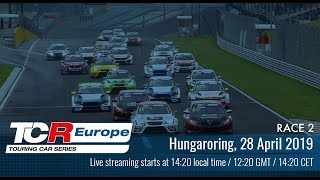 2019 Hungaroring, TCR Europe Round 2 in full