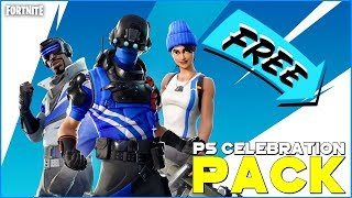 FREE FORTNITE EXCLUSIVE PACK – PLAYSTATION PLUS CELEBRATION PACK AVAILABLE NOW