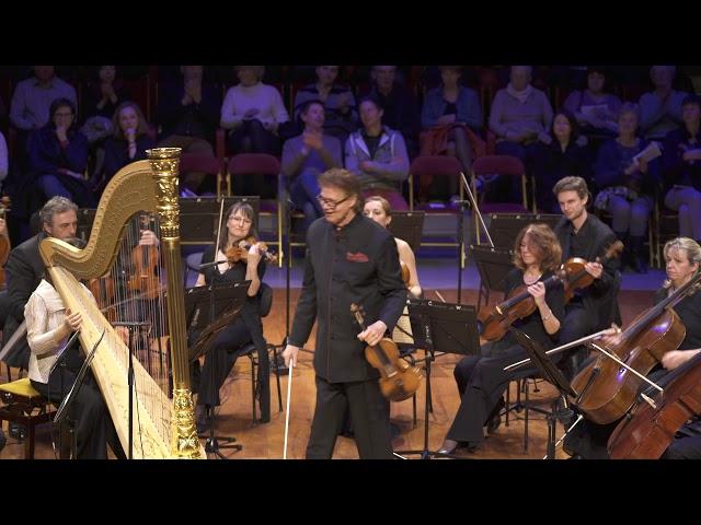 Ravel (Maurice) : Tzigane (extrait) - Augustin Dumay, ORCW - LIVE 4k
