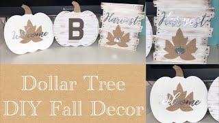 DIY Dollar Tree Fall Decor
