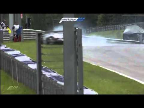 FIA European Formula 3 Spielberg Alex Lynn Huge Crash