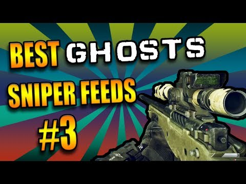 COD Ghosts Top 5 Sniper Feeds #3 with Crazy 11 Man Feed