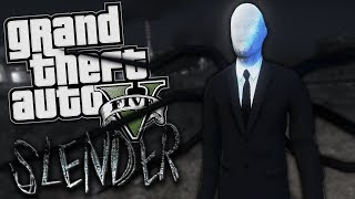 GTA 5 Mods - THE SLENDER MAN MOD - PART 2 (GTA 5 PC Mods Gameplay)