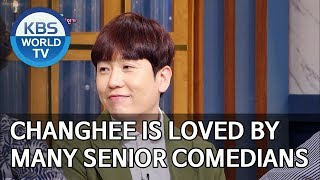 Changhee is loved by many senior comedians [Happy Together/2019.09.12]