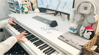 BTS「Dynamite」 Piano Cover видео