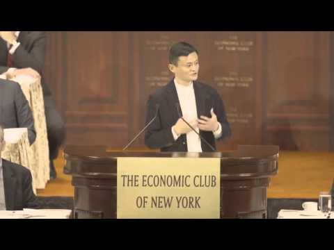 Jack Ma - How I got started and my Vision!