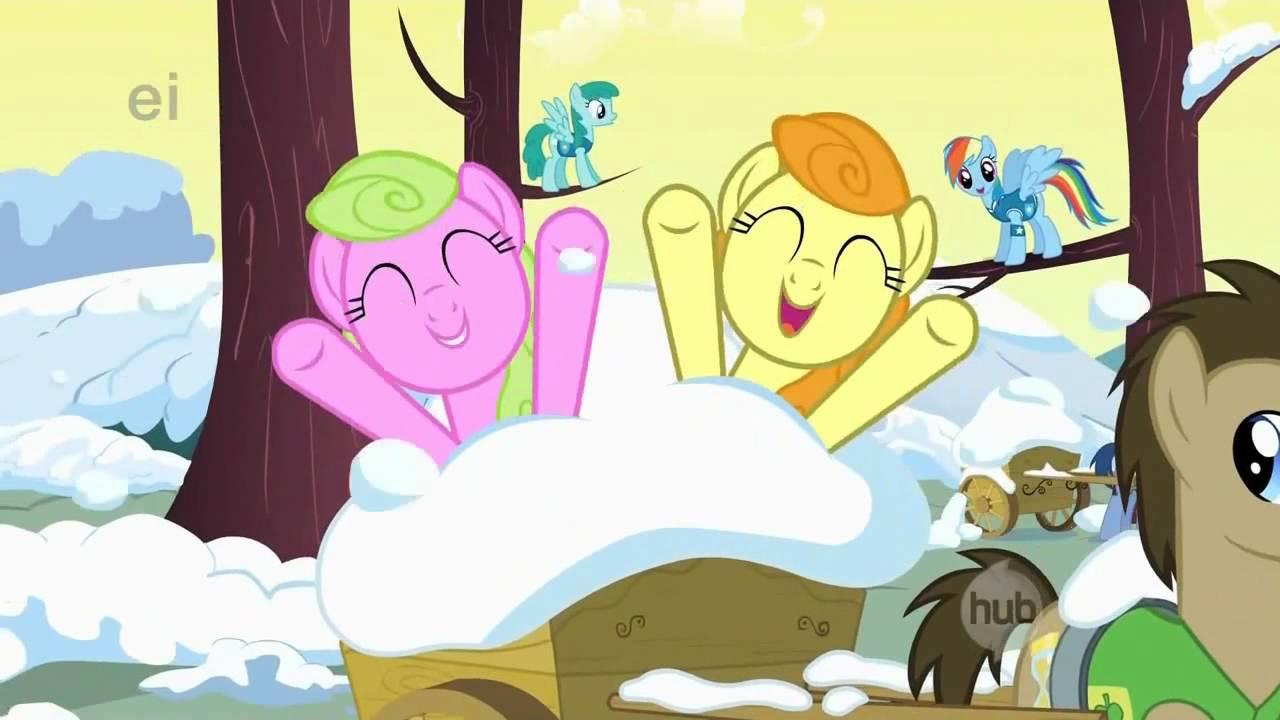 my little pony la magia de la amistad envolviendo el inverno con