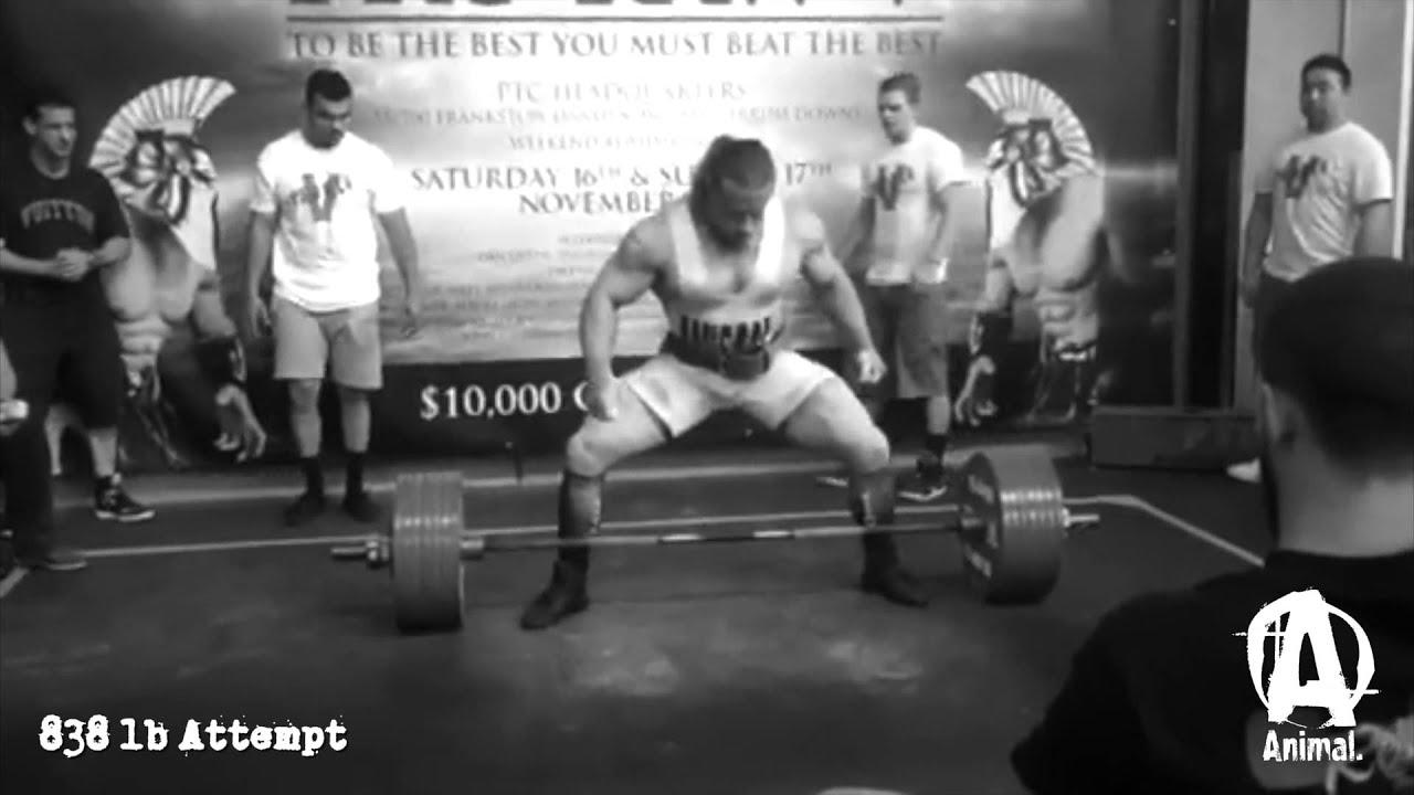 Dan BOSS Green New World Record At The 2013 PRO RAW V