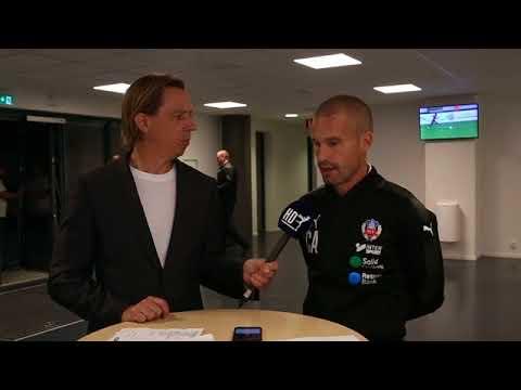 Intervju med Christoffer Andersson efter HIF - Varberg