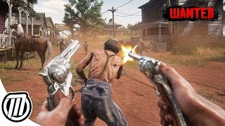 Red Dead Redemption 2: WANTED Outlaw! Open-World Gameplay Live Stream
