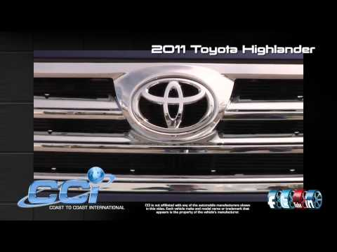 Toyota Highlander 2011 Trim Package