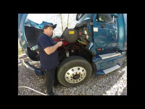 Replacing Prostar front cab mounts by Rawze