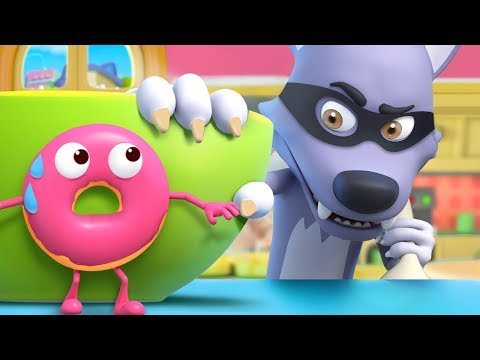 甜甜圈捉迷藏 | 2020最新學顏色兒歌童謠 | 卡通 | 動畫 | 寶寶巴士 | BabyBus