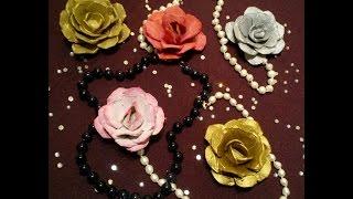 Как легко сделать цветы из яичных ячеек своими руками! egg carton rose, paper flowers, paper crafts