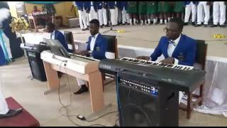 St. Louis and Opoku Ware choir performs champions league