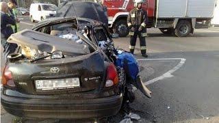 Brutal Car-Bike Crash in Georgia
