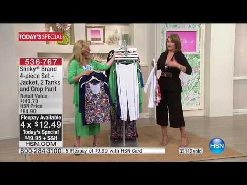 HSN   Slinky Brand Fashions Anniversary 05.10.2017 - 09 PM