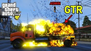 GTR Explodes On Touch!? (GTA RP)