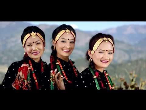 Parbat Ki Cheli.......CHITRE (Parbat)Village Promotional Official Music Video 2016
