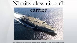 Nimitz-class aircraft carrier