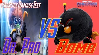 Prestige Bomb Vs. Dr. Pro - Angry Birds Evolution