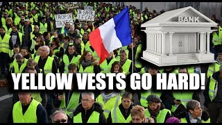 Yellow Vests Go At Banks & Damage 60% Of France's Speed Cameras!