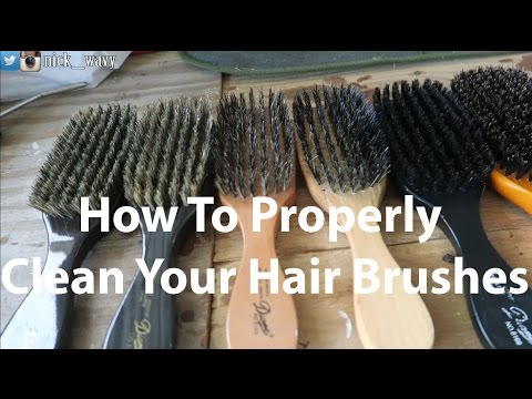 How To Properly Clean Your Hair Brushes