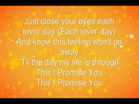 This I Promise You by N'Sync Lyrics