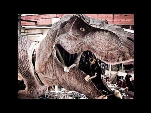 JURASSIC PARK  TRex  Skinning an Animatronic Dinosaur Part 2  BEHINDTHES
