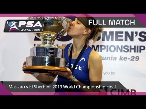 Squash: Full Match - 2013 Women's World Championship Final - Massaro v El Sherbini