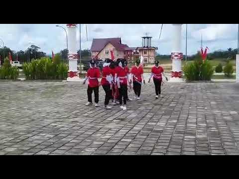 Joget dance ala SMP Negeri 2 NGABANG