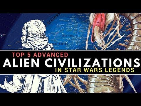 5 Most Advanced Alien Civilizations in Star Wars Legends | Star Wars Top 5