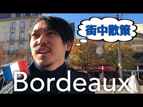 【ボルドー】ワインの産地 街散策して肉食べます!フランス旅行- YUKIO154