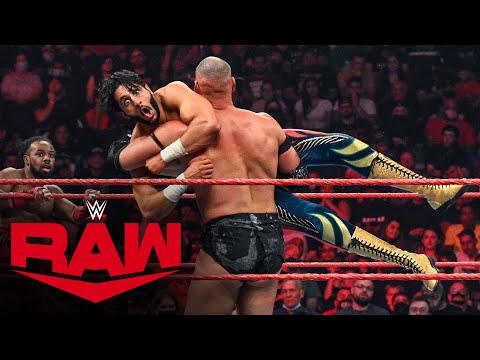 The New Day, Mansoor & Mustafa Ali vs. AJ Styles, Omos, MACE & T-BAR: Raw, Sept. 13, 2021