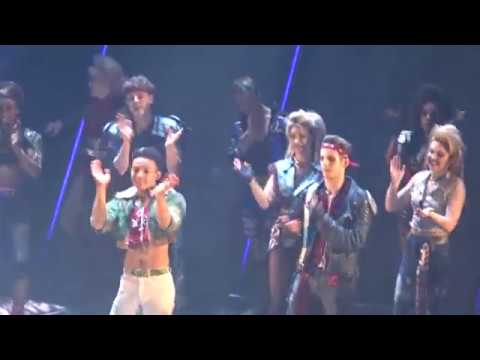 'Bat Out of Hell-The Musical.' Curtain Call 10 October 2018.