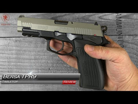 Bersa TPR9 Tabletop Review and Field Strip