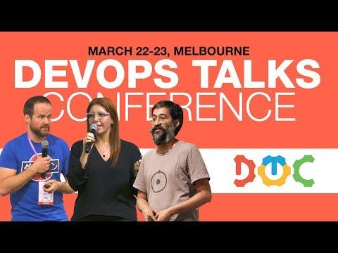 DevOps Talks Conference 2018, March 22-23, Melbourne