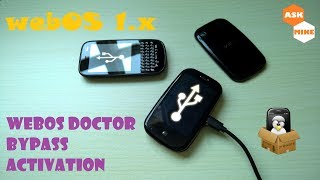 webOS 1.x Doctor, Bypass Activation and Install Preware