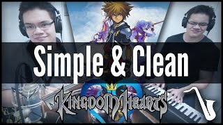 Kingdom Hearts: Simple & Clean - Jazz Cover || insaneintherainmusic (feat. Carlos Eiene)