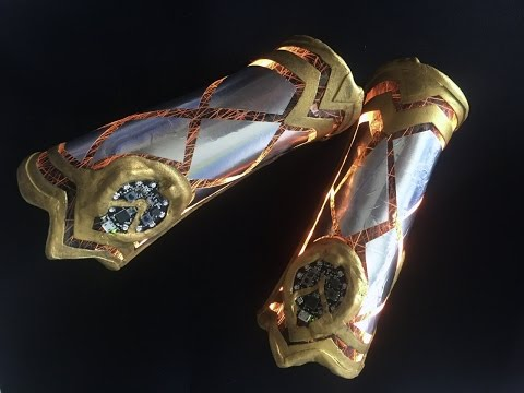 Wonder Woman Bracers Cosplay Tutorial: Calibration