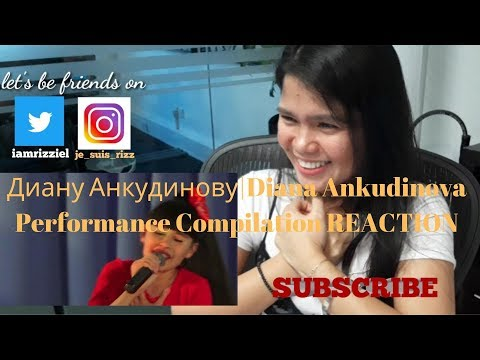 Диану Анкудинову   Diana Ankudinova Performance Compilation REACTION